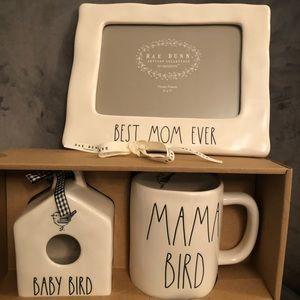 💖 Rae Dunn mini-Birdhouse w/mug & picture frame